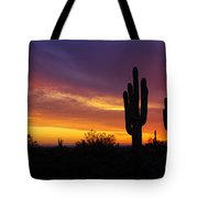 Saguaro Sunset II  Tote Bag
