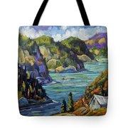 Saguenay Fjord By Prankearts Tote Bag