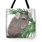Tamarin Monkey Art Tote Bag