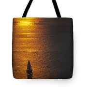 Sail Boat On Puget Sound Tote Bag