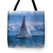 Sail Boat Photo Art 01 Tote Bag