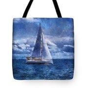 Sail Boat Photo Art 02 Tote Bag