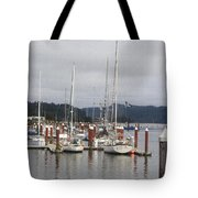 Sail Boats Waiting For Their Captains Tote Bag