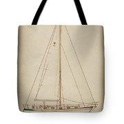 Sailboat 42 Tote Bag