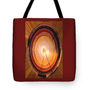 Sailboat Abstract Tote Bag