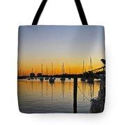 Sailboat Bay Tote Bag