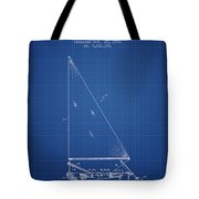 Sailboat Patent From 1991- Blueprint Tote Bag