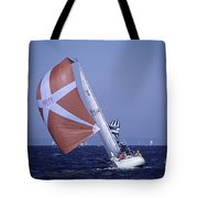 Sailboat Race On Puget Sound Tote Bag