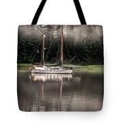 Sailboat Reflection Tote Bag