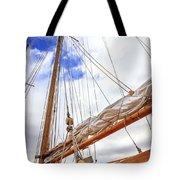 Sailboat Rigging Tote Bag
