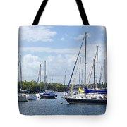 Sailboat Series 05 Tote Bag