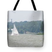 Sailboats At White Rock Lake Tote Bag