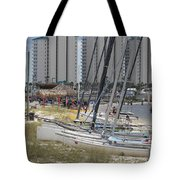 Sailboats For Playtime Tote Bag