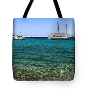 Sailboats On The Water Tote Bag