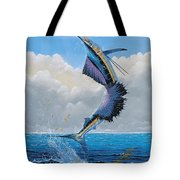 Sailfish Dance Off0054 Tote Bag