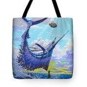 Sailfish Football Off0030 Tote Bag