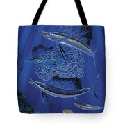 Sailfish Round Up Off0060 Tote Bag