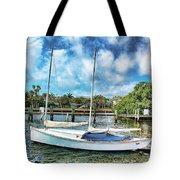 Sailboat Series 01 Tote Bag