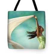 Sailing A Favorable Wind Tote Bag by Laura Fasulo