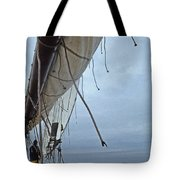 Sailing A Skipjack Tote Bag