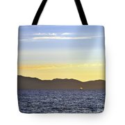 Sailing At Sunset - Lake Tahoe Tote Bag