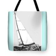 Sailing Freedom On A Reach Tote Bag