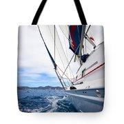 Sailing Bvi Tote Bag by Adam Romanowicz