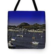 Sailing Conwy Harbor Tote Bag