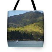Sailing Cook Strait Tote Bag