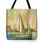 Sailing Dreams On A Summer Day Tote Bag