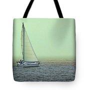 Sailing Home Tote Bag