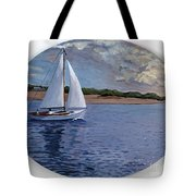Sailing Homeward Bound Tote Bag