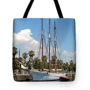 Sailing In Barcelona Tote Bag