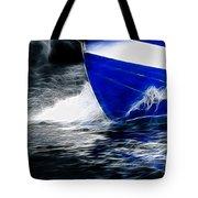 Sailing In Blue Tote Bag