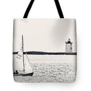 Sailing In Cape Cod Tote Bag