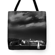 Sailing In Front Of The Sagamore Tote Bag