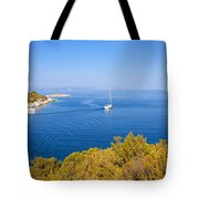 Sailing In The Adriatic Tote Bag