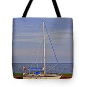 Sailing In Volendam Tote Bag