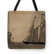 Sailing Into The Past Tote Bag