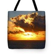 Sailing Into The Sunrise Tote Bag