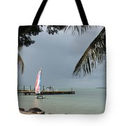 Sailing Key Largo Tote Bag