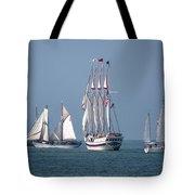 Sailing Lake Erie Tote Bag