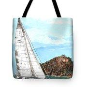 Bay Of Islands Sailing Sailing Tote Bag