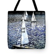 Sailing On Blue Tote Bag