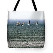 Sailing On Lake Erie Tote Bag