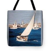 Sailing On San Francisco Bay Tote Bag