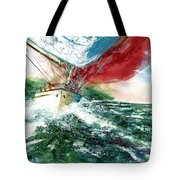 Sailing On The Breeze Tote Bag