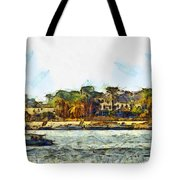 Sailing On The Nile Tote Bag