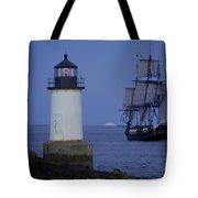 Sailing Out For The Red Moon Tote Bag