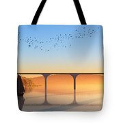 Sailing Out To Sea... Tote Bag